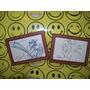 Rey Leon Disney 9 Dibujos Certificado Autenticidad