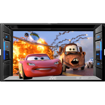 Pantalla Autoestereo Dvd Jvc Kw-v11 Iphod Touch Usb Rca 6.2