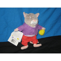 Personaje De Gato Con Su Queso