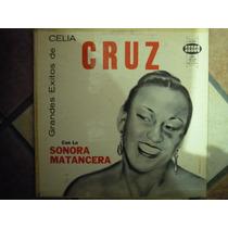 Celia Cruz Lp Grandes Exitos Con La Sonora Matncera 33rpm