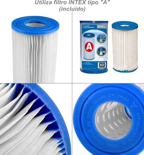 Bomba filtrante para piscinas intex 110v mod 603 nueva for Bombas para piscinas precios