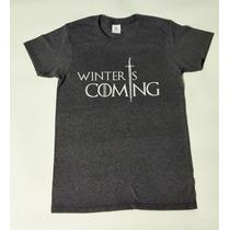 Playera Game Of Thrones Winter Is Coming Juego Tronos