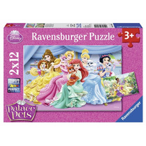 Ravensburger Rompecabezas Disney Princesas 2x12 P 7580