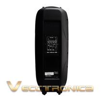 Torre D/audio Profesional Activa D/doble Bafle 2x15 Con Leds