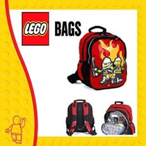 Mochila Escolar Back Pack Lego City Fire Original
