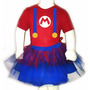 Disfraz Halloween Para Bebes Pañalero +tutu- Mario Bros 2