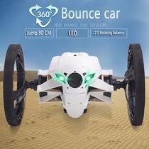 Carro Mini Bounce Sj80 Con Luz Led A Control Remoto 2.4g