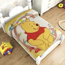Winnie Pooh Frazada Cunero Cobertor Bebe Ligero 1.10* 90
