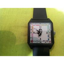 Raro Reloj De Pulsera Vintage Parker Bros Monopoly Game