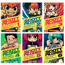 Libros Scott Pilgrim Color Set Vols 1-6 En Pasta Dura Ingles
