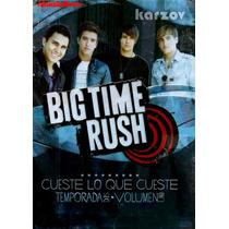 Big Time Rush, Temporada 2 Dos, Volumen 1 Uno, Serie Tv, Dvd