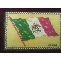 Bandera Mexicana Del Centenario De La Independencia 1910