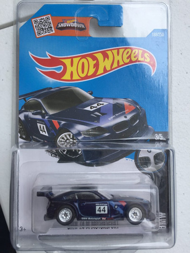 Hot Wheels Bmw Z4 Sth Th Super Llantas De Gomas 450