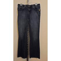 Pantalon De Mezclilla Aeropostale Para Dama Talla 6-32 Azul