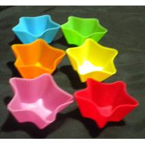 Moldes De Silicón Para Cupcake En Forma De Estrella