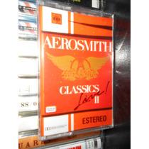 Audio Cassette Aerosmith, Classics Live 2 Nuevo