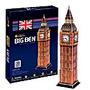 Big Ben Rompecabezas 3d 30 Piezas Cubicfun