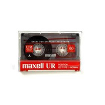Casettes Audio Maxell De 60 Y 90 Minutos