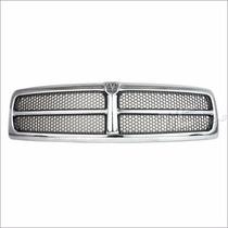 Parrilla Cromada Para Dodge Ram 1500 2500 3500 1999 - 2002