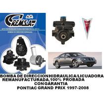 Bomba Dirección/licuadora Remanu. Pontiac Grand Prix 97-08