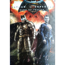 Lote De Posters Dc Comics Batman Vs Superman Y Batman Arkam