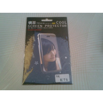 Wwow Mica De Pantalla Tipo Espejo Nokia E71!!!
