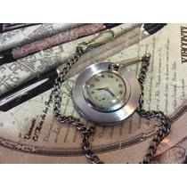 Reloj De Bolsillo Antiguo Acssa Cuerda Tapa Mica Visible