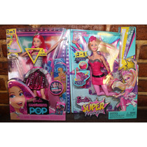 Barbie Super Princesa , Barbie Campameto Pop Precio C/u