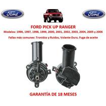 Bomba Licuadora Direccion Hidraulica Ford Ranger 2000