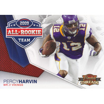 2010 Threads All Rookie Team Percy Harvin Wr Vikings