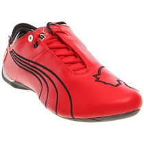Tenis Puma Future Cat M1 Ferrari Big Cat Rojo Negro Vv4