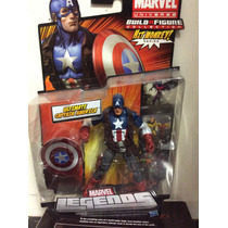 Figura De Marvel Legends Capitan América 100% Nuevo !!!