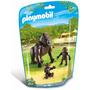 Playmobil 6639 Familia De Gorilas Zoologico Animal Retromex
