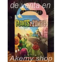 Plantas Y Zombies 60 Cajas Dulceras