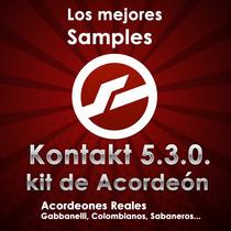 Kontakt Samples De Acordeones Mexicanos, Lo Mas Sonado.