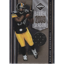 2010 Limited Bs Jersey Rashard Mendenhall 30/100 Rb Steelers
