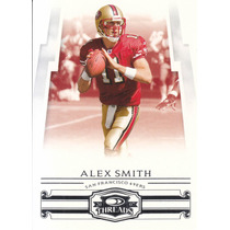 2007 Donruss Threads Alex Smith Qb 49ers