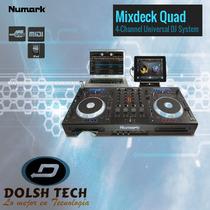 Nueva Numark Mixdeck Quad 4 Canales Mezcladora Dj Mixer