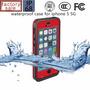 Protector Rojo Contra El Agua Redpepper Para Iphone 5
