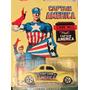 Hot Wheels Capitán América Auto Ford Coupe '40 Envio Gratis