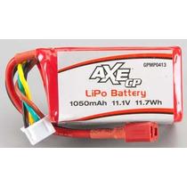 Bateria Lipo 3s 11.1v 1050 Mah 11.7wh Axe Cp Gpmp0413
