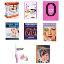 Pack Libros:belleza,cuidado D Cutis,maquillaje,peinados,acne