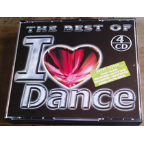 The Best Of I Love Dance Boxset De 4 Cds Unica Ed 2001 Fn4