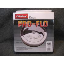 Edelbrock Filtro Cromado 14 Serie Signature