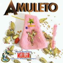 Amuleto Angelical / Logra Protección, Armonía Y Buena Suerte