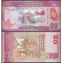 Billete Sri Lanka 20 Rupias (2010) Buho Dmm