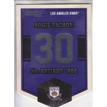 2012-13 Classics Banner Numbers Rogie Vachon Kings Nhl