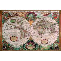 Rompecabezas Ravensburger 5000 Pzas Mapa Antiguo