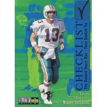 1997 Ud Collectors Choice Checklist Dan Marino Qb Dolphins