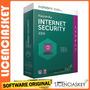Licencia Kaspersky Internet Security 2017 1pc/1año +garantía
